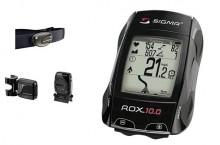 Compteur GPS sigma ROX10.0 complet