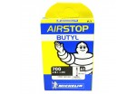 Chambre à air MICHELIN 700x18-23c Airstop Butyl Presta 40mm