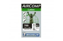 Chambre à air MICHELIN AIRCOMP LATEX A1 700X22/23C LATEX Valve 60mm