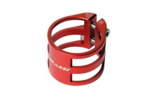 Collier de serrage de tige de selle MASSI CD7075 34.9 rouge