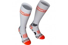 Chaussettes de compression COMPRESSPORT  V2.1 FULL 3D DOT Blanche