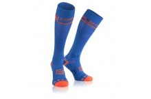 Chaussettes de compression COMPRESSPORT  V2.1 FULL 3D DOT Bleu