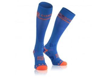 Chaussettes de compression COMPRESSPORT  V2.1 FULL 3D DOT Bleu