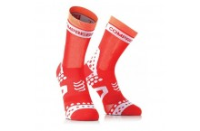 Chaussettes de compression COMPRESSPORT  Pro Racing BIKE Ultralight Rouge