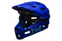Casque BELL Super 3R MIPS Joy Ride colbalt
