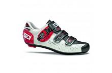Chaussure Sidi genius 5 fit Blanc noir rouge 46