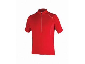 Maillot ENDURA Xtract S/S Jersey rouge